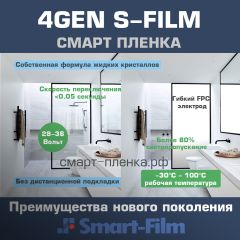 Smart Film S-Film 4th Generation (White)