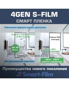 Smart Film S-Film 4th Generation (White)